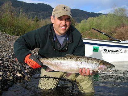 Kalama river fishing guide kevin newell for Kalama river fishing